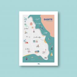 """Affiche """" Sainte-Marine """""""