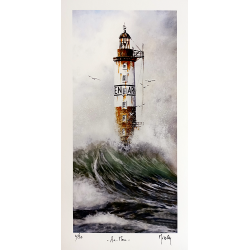 Le Phare d'Ar Men - Tirage...