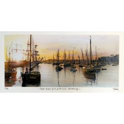 Soleil Levant, Port du...