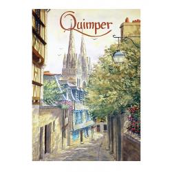 Rue du Lycée, Quimper -...