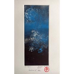 Variation I. Bleu - Monotype