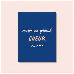 """"""" Marin au grand coeur """" -..."""