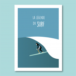 """"""" La légende du Surf """" -..."""