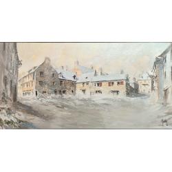 Huile - Place au Beurre sous la neige