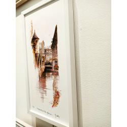 Tirage d'Art - Échauguette sur le Steir - cadre Cali Zoom