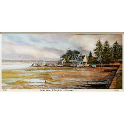 Tirage d'art - Marée Basse à Penfoulic - seul
