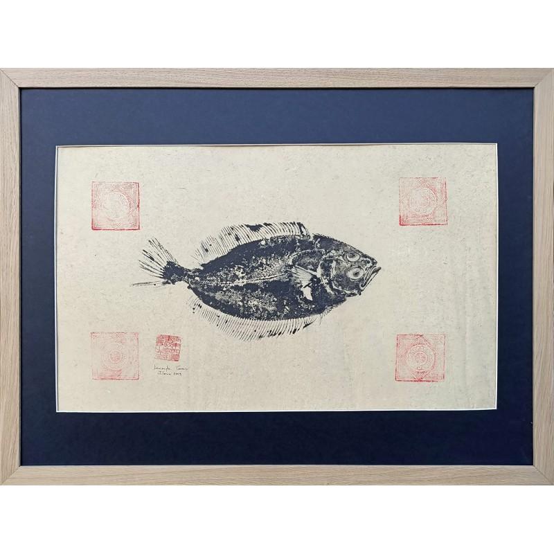 """Gyotaku """" Limande """""""