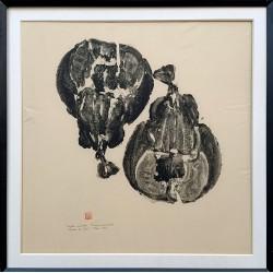 """Gyotaku """" Torpilles marbrées """""""