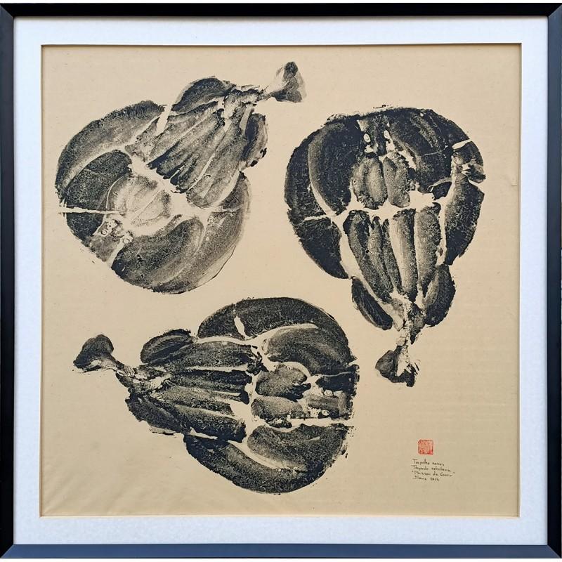 "Gyotaku "" Torpilles noires """